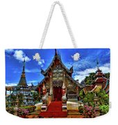 Buddhist Temples In Chiang Mai Weekender Tote Bag