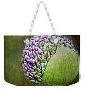 Budding Allium Weekender Tote Bag