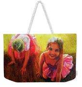Budding Ballerinas Weekender Tote Bag