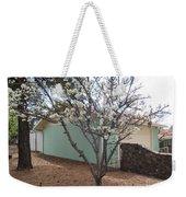 Budding Fruit Tree Weekender Tote Bag