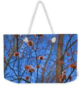 Budding Maples Weekender Tote Bag