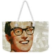 Buddy Holly By Mary Bassett Weekender Tote Bag
