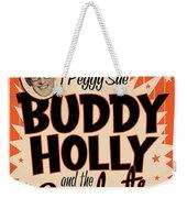 Buddy Holly Weekender Tote Bag