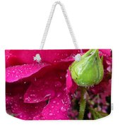 Buds And Drops Weekender Tote Bag