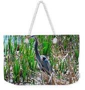 Bue Heron Weekender Tote Bag