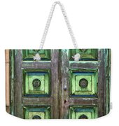 Buenos Aires Church Crypt Door Weekender Tote Bag