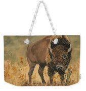 Buff Buffalo  Weekender Tote Bag