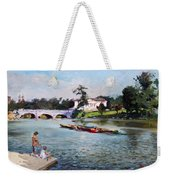 Buffalo  Fishing Day Weekender Tote Bag