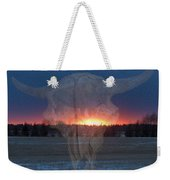Buffalo Ghosts Weekender Tote Bag