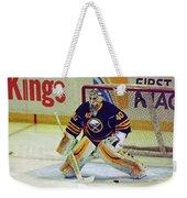 Buffalo Goalie  Weekender Tote Bag