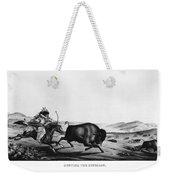 Buffalo Hunt, 1837 Weekender Tote Bag