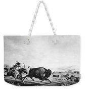 Buffalo Hunt, C1830 Weekender Tote Bag