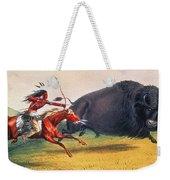 Buffalo Hunt, C1832 Weekender Tote Bag