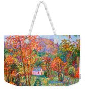 Buffalo Mountain In Fall Weekender Tote Bag