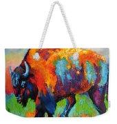 Buffalo On Weed Weekender Tote Bag