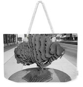 Buffalo Sculpture Grand Junction Co Weekender Tote Bag