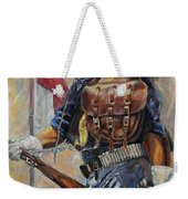 Buffalo Soldier Outfitted Weekender Tote Bag by Harvie Brown