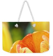 Bug View Of Tulip Weekender Tote Bag
