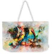 Bug Watercolor Weekender Tote Bag