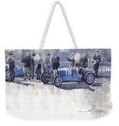 Bugatti 35c Monaco Gp 1930 Louis Chiron  Weekender Tote Bag