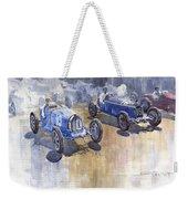 Bugatti 51 Alfa Romeo 8c 1933 Monaco Gp Weekender Tote Bag