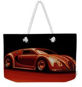 Bugatti Veyron 'beetgatti' 1945 Painting Weekender Tote Bag
