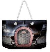 Bugatti Veyron Legend Grille Emblem -0488ac Weekender Tote Bag