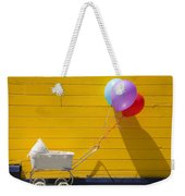 Buggy And Yellow Wall Weekender Tote Bag by Garry Gay
