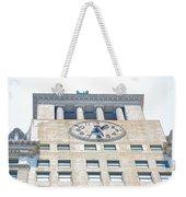 Building Closeup In Manhattan 12 Weekender Tote Bag
