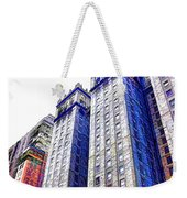 Building Closeup In Manhattan 15 Weekender Tote Bag