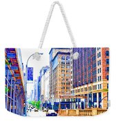 Building Closeup In Manhattan 18 Weekender Tote Bag