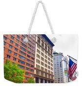 Building Closeup In Manhattan 5 Weekender Tote Bag