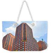 Building Closeup In Manhattan 6 Weekender Tote Bag