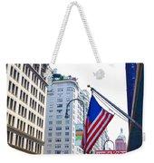 Building Closeup In Manhattan 9 Weekender Tote Bag