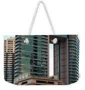 Building In Hawaii Weekender Tote Bag