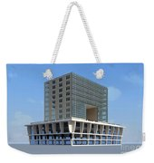 Building On Plinth Weekender Tote Bag