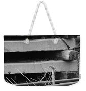 Building Tracks Weekender Tote Bag