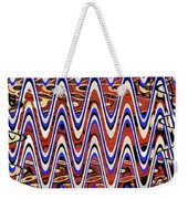 Building With Reflections Abstract Weekender Tote Bag