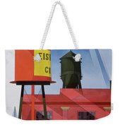 Buildings Abstraction Weekender Tote Bag