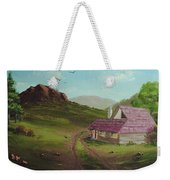 Buildings In Landscape Weekender Tote Bag