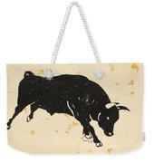Bull 1 Weekender Tote Bag