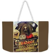 Bull Durham Smoking Tobacco Weekender Tote Bag