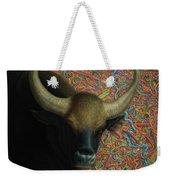 Bull In A Plastic Shop Weekender Tote Bag