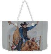 Bull Rider Weekender Tote Bag