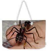 Bullet Ant On Hand Weekender Tote Bag