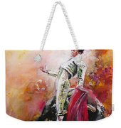 Bullfight 24 Weekender Tote Bag