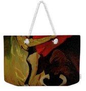 Bullfighter By Mary Krupa Weekender Tote Bag