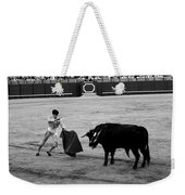 Bullfighting 22b Weekender Tote Bag