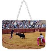 Bullfighting 35 Weekender Tote Bag