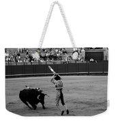 Bullfighting 36b Weekender Tote Bag